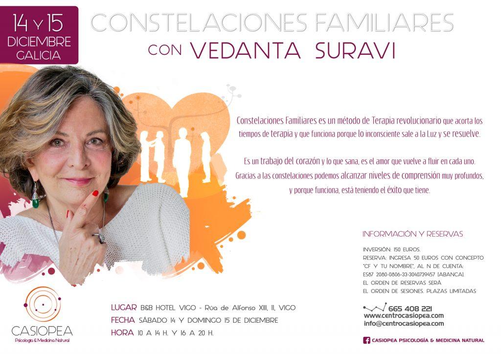 Constelaciones Familiares con Vedanta Suravi